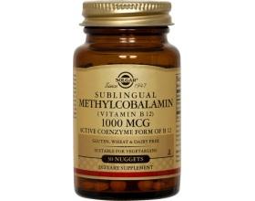 SOLGAR Methylcobalamin Vit. B-12 1000μg 30softgels, Η βιταμίνη Β12 είναι ζωτικής σημασίας για το νευρικό σύστημα και τον σχηματισμό υγειών ερυθρών αιμοσφαιρίων