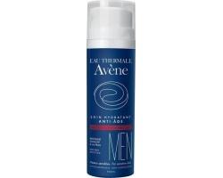 Avene, Men Soin Hydratant Anti - Age Αντιγηραντική Ενυδατική Φροντίδα για τον Άνδρα, για την Επιτάχυνση της Ελαστικότητας του Δέρματος & την πρόληψη του Οξειδωτικού Στρες, 50 ml