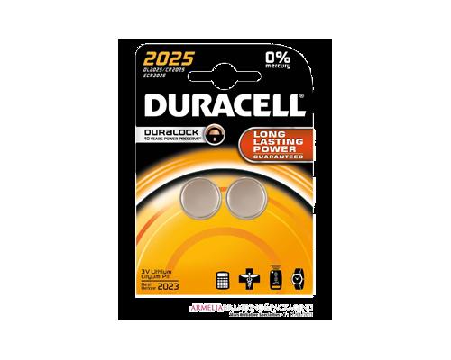 Duracell Duralock Long Lasting Power 2025, Μπαταρίες Λιθίου 2 τεμάχια