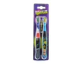 Dr.Fresh Turtles Οδοντόβουρτσα παιδική για 6 ετών και άνω 2 τεμάχια μαζί