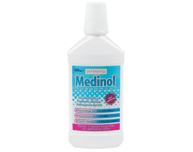 Intermed Medinol Mouthwash, Ήπιο Αντισηπτικό στοματικό διάλυμα καθημερινής χρήσης, 500ml