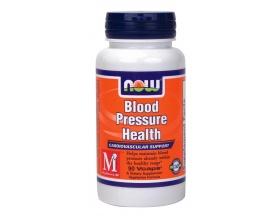Now Foods Blood Pressure Health, Συμπλήρωμα Διατροφής για την διατήρηση της υγιούς πίεσης του αίματος, 90 κάψουλες