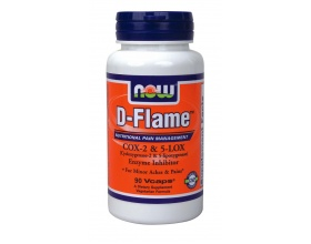 Now Foods D-Flame, Συμπλήρωμα Διατροφής απο εναν συνδυασμό βοτάνων που βοηθάει στη διαχείρηση μικρών πόνων και εντάσεων, 90 κάψουλες