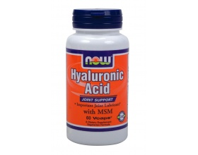 Now Foods Hyaluronic Acid 50mg, Συμπλήρωμα Διατροφής για τη διατήρηση της απαραίτητης υγρασίας του δέρματος και την ενυδάτωσή του και για υγιείς αρθρώσεις, 60 ταμπλέτες