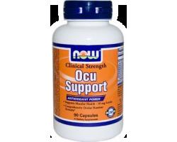 Now Foods Ocu Support Clinical Strength, Συμπλήρωμα Διατροφής για την οφθαλμική υγεία, 60 κάψουλες