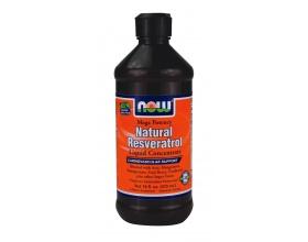 Now Foods Resveratrol Liquid 150mg, Συμπλήρωμα Διατροφής απο ρεσβερατρόλη γνωστή για τις αντιγηραντικές της ιδιότητες, καθώς και για την ικανότητά της να στηρίζει μια υγιή αντίδραση στις φλεγμονές, 473ml