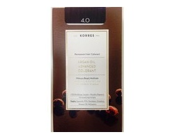 KORRES 4.0 Βαφή Μαλλιών με Έλαιο Argan & φυτική Κερατίνη , ΚΑΣΤΑΝΟ ΦΥΣΙΚΟ 50ml