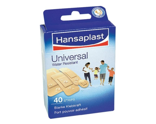HANSAPLAST Universal Cover with a strong adhesive capacity to protect the wound area 40 patches