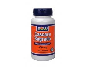Now Foods Cascara Sagrada 450 mg, Συμπλήρωμα Διατροφής που λειτουργεί ως ένα ισχυρό καθαρτικό και πιστεύεται ότι ενισχύει τα τοιχώματα του παχέως εντέρου, 100 κάψουλες