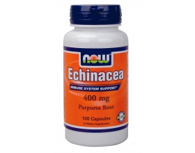 Now Foods Echinacea 400mg, Συμπλήρωμα Διατροφής για την ενίσχυση του ανοσοποιητικού, 100 κάψουλες