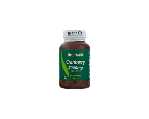 Health Aid Cranberry 5000mg  για υγιές ουροποιητικό 60 ταμπλέτες