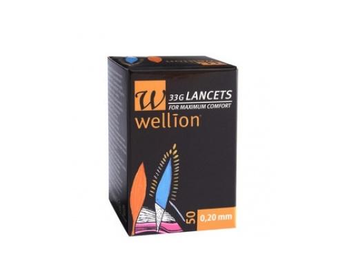 Wellion Calla Lancets Σκαρφιστήρες 28G 50 Tεμάχια