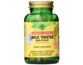 SOLGAR Milk Thistle Herb & Seed Extract 60caps, Προστασία και αναζωογόνηση του ήπατος- ηπατίτιδα- ψωρίαση