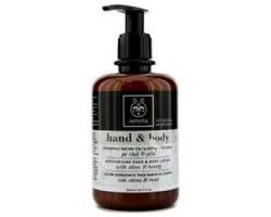 Apivita Moisturizing Hands & Body Lotion 300ml, Ενυδατική Λοσιόν για τα χέρια & το σώμα με ελιά και μέλι