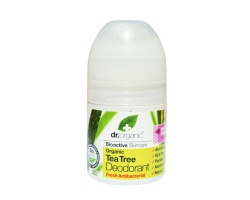 Dr.organic Tea Tree Deodorant. Αποσμητικό με Βιολογικό Τεϊόδεντρο, 50ml
