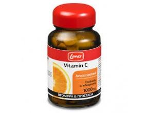 Lanes Vitamin C 1000mg, Συμπλήρωμα Διατροφής για την πρόληψη του κρυολογήματος και για την τόνωση του ανοσοποιητικού 30tabs