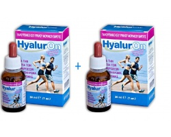 Hyaluron Υαλουρονικό Οξύ υψηλού μοριακού βάρους 2x30ml, Συμπλήρωμα Διατροφής για την υγεία των αρθρώσεων