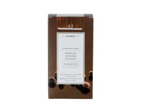 KORRES 6.3  Βαφή Μαλλιών με Έλαιο Argan & φυτική Κερατίνη,ΞΑΝΘΟ ΣΚΟΥΡΟ ΜΕΛΙ 50ml