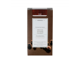 KORRES 6.4 Βαφή Μαλλιών με Έλαιο Argan & φυτική Κερατίνη, ΞΑΝΘΟ ΣΚΟΥΡΟ ΧΑΛΚΙΝΟ, 50ml