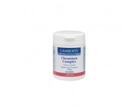 Lamberts Chromium complex 60caps, Συμπλήρωμα Διατροφής που βοηθά να δδιατηρούντια σε φυσιολογικά επίπεδα οι τιμές του σακχάρου