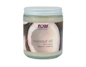 Now Foods Coconut Oil 207ml, 100% Φυσικό Λάδι Καρύδας για δέρμα και μαλλιά