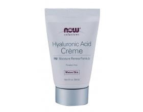 Now Foods Hyaluronic Acid Night Cream 59,1ml, Το υαλουρονικό οξύ Night Creme προσφέρει την απαιτούμενη ενυδάτωση, την αποκατάσταση του υαλουρονικού οξέως και όλα τα ζωτικής σημασίας θρεπτικά συστατικά για το δέρμα