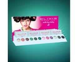 ELIXIR London Lasting Make up 803 Σκιές ματιών άσπρο/γκρί/σκούρο γκρί