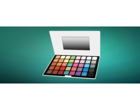 ELIXIR LONDON 40 color High-Pearl eyeshadow Pallet ref.888