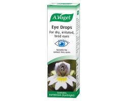 A. Vogel Eye Drops 10ml, Κολλύριο με ευφράσια και υαλουρονικό οξύ, για ξηρά ερεθισμένα ή κουρασμένα μάτια, κατάλληλο για χρήστες φακών επαφής καθώς και για παιδιά ανω των 2 ετών