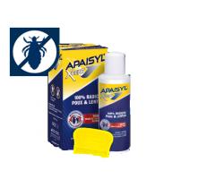 Merck Apaisyl Poux Expert 100 ml, Δραστική λοσιόν αγωγής που εξαλείφει 100% ψείρες αλλα και κόνιδες