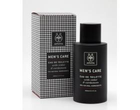 APIVITA Men's Care Eau de Toilette, Ανδρικό άρωμα με άρωμα κέδρου και κάρδαμο 100ml