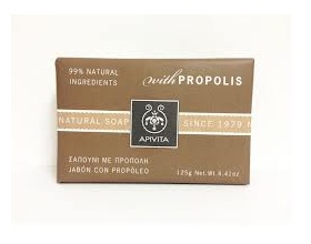 APIVITA Natural Soap Φυσικό σαπούνι με πρόπολη 125g