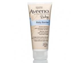 Aveeno Baby Barrier, Προστατευτική κρέμα με εκχύλισμα βρώμης και οξείδιο του ψευδαργύρου 100ml