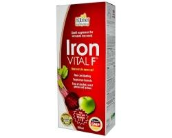 A.VOGEL Iron VITAL F Συμπλήρωμα Διατροφής εξαιρετική πηγή σιδήρου για συγκεκριμένες ομάδες-στόχους 250 ml