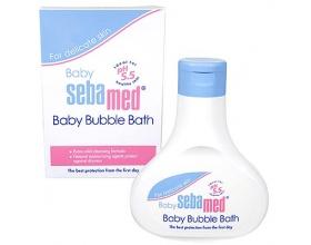 SEBAMED Baby Bubble Bath Βρεφικό Αφρόλουτρο για την ενυδατική ισορροπία του βρεφικού δέρματος 200ml