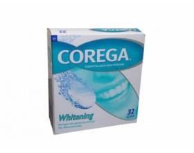 COREGA Whitening, καθαριστικά δισκία οδοντοστοιχιών 36 δισκία
