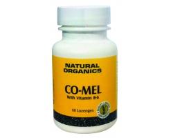 NATURE'S PLUS Co Mel (3mg μελατονίνης) με Β6 (500 mcg), 60 παστίλιες, Συμπλήρωμα Μελατονίνης με Βιταμίνη Β6, Παστίλιες για την Αντιμετώπιση των Διαταραχών του Ύπνου & Jet Lag