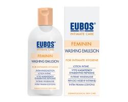 Eubos Feminin Washing Emulsion, Υγρό καθαρισμού για την ευαίσθητη περιοχή 200ml