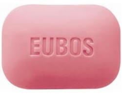 EUBOS SOLID RED 125 gr, Στερεή πλάκα πλυσίματος, αντί για σαπούνι, για τον απαλό και βαθύ καθαρισμό προσώπου και σώματος