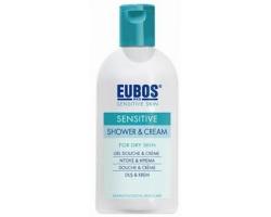 Eubos Sensitive Shower and Cream, Ντούζ και κρέμα για κανονικό και ξηρό δέρμα 200ml