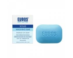 Eubos Blue, Washing Bar, Πλάκα Καθαρισμού για πρόσωπο και σώμα 125gr