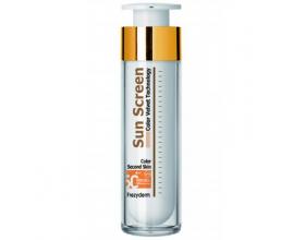 Frezyderm SUN SCREEN Color Velvet Second Skin Face, Αντιηλιακή κρέμα προσώπου με δείκτη spf 50+ για όλους τους τύπους δέρματος με χρώμα 50ml