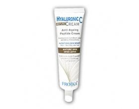 FROIKA Hyaluronic C Mature Cream, Αντιγηραντική κρέμα προσώπου για ώριμες επιδερμίδες 40 ml