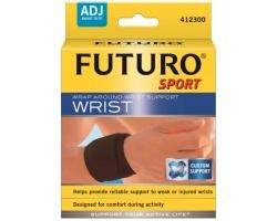 Futuro Αθλητικό Περικάρπιο 46378, Βοηθά στη σωστή στήριξη αδύναμων ή τραυματισμένων καρπών 1 τεμάχιο