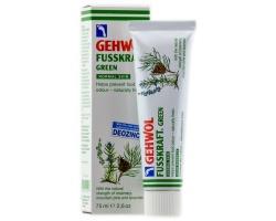 GEHWOL Fusskraft Green Αντιιδρωτική & αναζωογονητική κρέμα ποδιών 75 ml