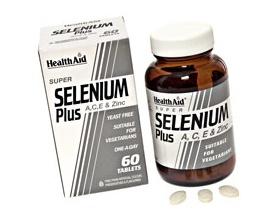 Health Aid Selenium Plus με βιταμίνη C συμπλήρωμα διατροφής για την προστασία των κυττάρων του οργανισμού 60 κάψουλες