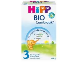 HiPP 3 Bio Combiotic, Βιολογικό γάλα για νήπια από τον 12ο μήνα 600g