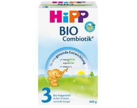 HiPP 3 combiotic, Βιολογικό γάλα για νήπια από τον 12ο μήνα 600g