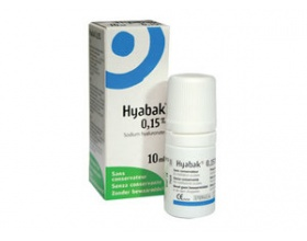 Hyabak Protector 0.15%, Ενυδατικό και λιπαντικό διάλυμα για μάτια και φακούς 10ml