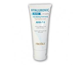 Froika Hyaluronic AHA-14 Cream 50ml, Κρέμα προσώπου για λάμψη και υγιή όψη του δέρματος